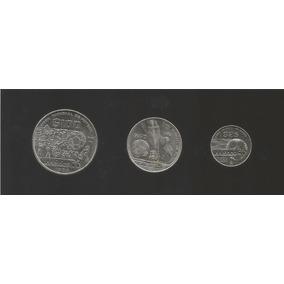 Coleccion De 3 Monedas Del Mundial Mexico 86