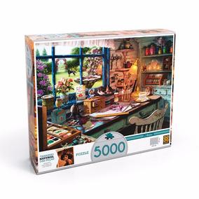 Quebra Cabeça 5000 Peças - Grow - Atelier