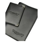 Porta Manual 19x13cm+ Porta Docs Triumph Couro Ecol. 1 Linha