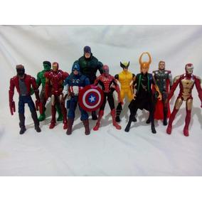 Lote Vingadores Marvel 10 Bonecos + 1 Brinde