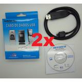 Lote Atacado Kit Com 2 Cabo Usb Celular Lg Antigo Kf240 Kp