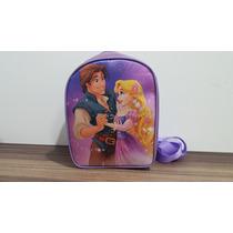Mochila Personalizada Rapunzel E O Principe Enrolados