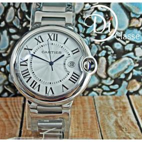 Reloj Cartier Ballon Blu Acero Para Dama Ycaballero-2 Medida