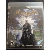 Jogo Batman Arkham Asylum Original Midia Física Para Ps3