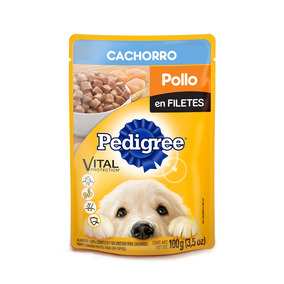 Pedigree Puppy Pouch Sobre Pollo En Filetes 100gr Alimento