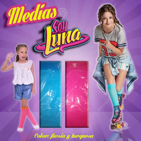 Medias Modelo Soy Luna Largas Pack Por 2 Pares