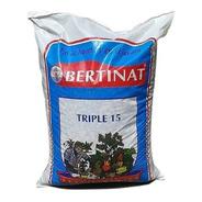 Fertilizante Triple 15 De Bertinat El Mejor Granulado 1 Kilo