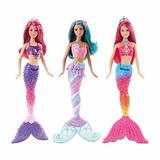 Muñeca Barbie Sirena Diversos Dhm45 Mattel