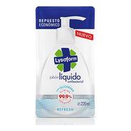 Jabon Liquido Lysoform Repuesto Refresh X 220ml