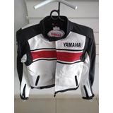 Jaqueta Couro Yamaha Tam. M