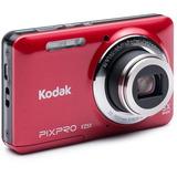 Cámara Fotográfica Digital Kodak Z-51 R16 Megapixeles Rojo