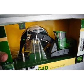 John Deere Réplica 2954-d Miniatura Carregadora Florestal