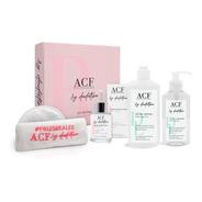 Acf Dadatina Kit Rutina Limpieza Facial Serum Gel Aceite