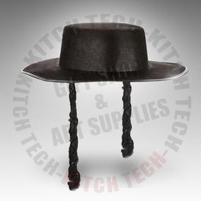 Sombrero Gorro Colectividad Judia Ortodoxo Rabino Disfraz