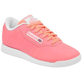 Tenis Reebok Princess Coral Tallas #23 Al #26 Mujer