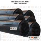 Geomembrana 1000 Micras Piscicultura Lago Tanque 2,5x2,5 Mts