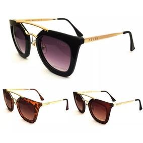 5501a9bfc66de Oculos Amarelo - Óculos De Sol Prada no Mercado Livre Brasil