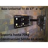 Base Articulada Para Tv De 37 A 60 Pulgadas