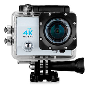 Camera Sport Açao Filmadora Wifi 4k Ultra Moto Bike Capacete