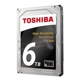 Disco Duro Toshiba N300, 6tb, Sata 6.0 Gbps, 7200 Rpm, 128 M