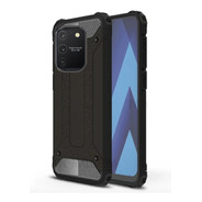 Capa Anti-impacto Hybrid P/ Samsung Galaxy S10 Lite - Preta