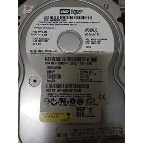 Hd 80gb 3.5 Sata 7200rpm Western Digital Wd Testado Ok! K302
