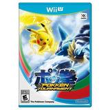 Pokemon Pokken Tournament Nintendo Wii U Nuevo Y Sellado