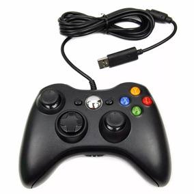 Joystick Manete Controle Original Feir Xbox 360 Pc + Fio Usb