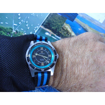 Relógio Mirvaine Diver Maritimo Automático Eta Cal 2452