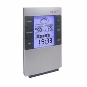 Relógio De Mesa Digital De Mesa Temperatura E Umidade