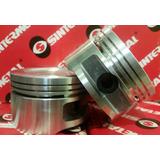 1 Piston + Juego De Aros Hidraulicos Corsa 1.6 8v-zona Norte