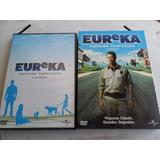 Dvd Eureka Primeira Temporada Completa 4 Dvds