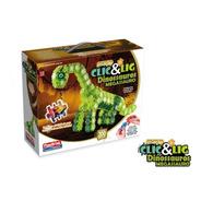 Clic & Lig Dinossauros Megassauro Para Montar - Plasbrink
