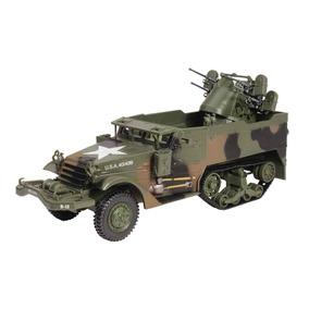 Linda Miniatura Caminhão Tank De Guerra M16-nova Na Caixa!!