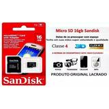 Cartão Sandisk 16gb Imperdível!!!!
