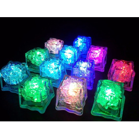 58 Cubos De Hielos Luminosos Led Sumergibles
