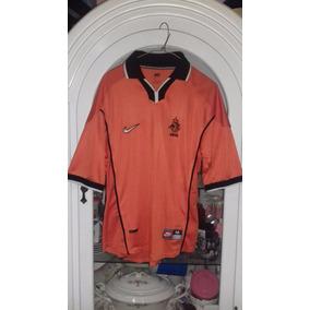 Jersey Playera Seleccion Holanda Año 1998 Nike Mediana