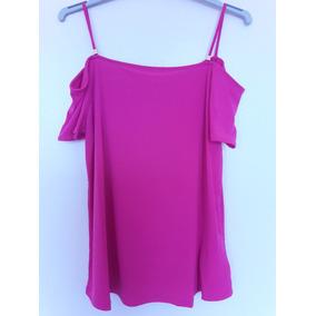 Blusa Michael Kors Electric Pink Talla S -m -l