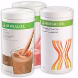 Kit Herbalife 2 Shake 550g E Proteína 480g (whey Protein)