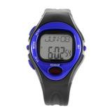Relógio Batimento Monitor Cardíaco Frequência Cor Azul