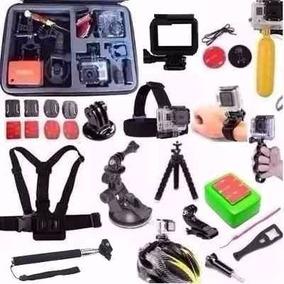 Kit Gopro Hero Acessórios Go Pro 2 3 3+ 4 5 Sports Hd Dv