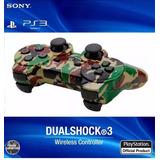 Control Ps3 Inalambrico Sony Camuflado Dualshock Somos Tiend