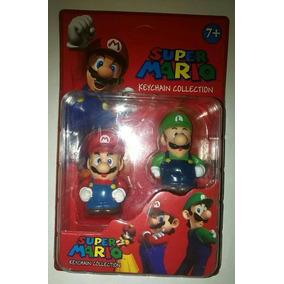 Set Muñecos Super Mario Bross Juguete Niños Niñas