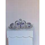 Corona Princesa Sofia En Porcelana Fria (adorno Para Torta)
