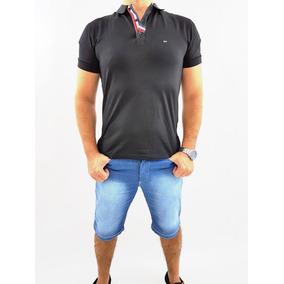 Bermuda Jeans Masculina Plus Size Com Lycra 36 Ao 58