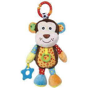 Brinquedo Macaquinho De Pelúcia Treme-treme Tomtoys - Buba