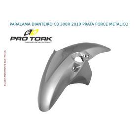Paralama Dianteiro Cb 300r 2010 Prata Force Metalico