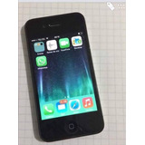 Iphone 4 Negro, Estética 9.8 Mica Atrás Y Adelante