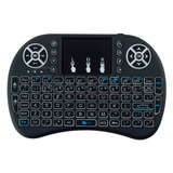 Mini Teclado I8 Retro Iluminado Usb Bluetooth Smart Tv Box