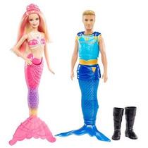 Barbie Casal Real Sereia Das Pérolas Mattel